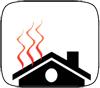 roof deicing icon
